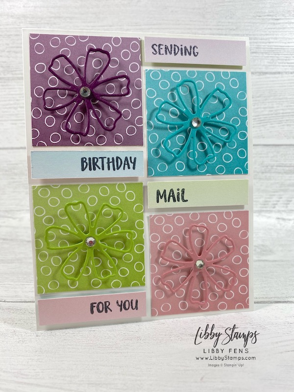 libbystamps, Stampin' Up!, Pretty Perennials, Pretty Perennials Bundle, Perennial Petals Dies, Oh So Ombre DSP, SAB, Saleabration, Saleabration 2021, CCMC, Create with Connie and Mary