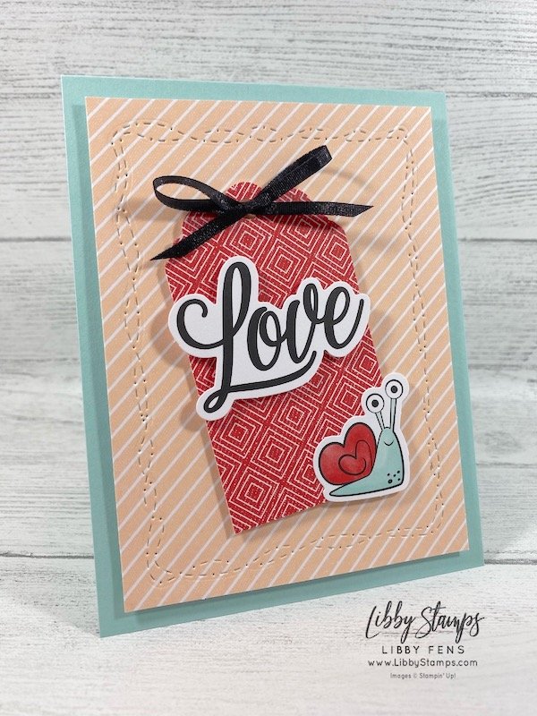 libbystamps, Stampin' Up!, Stitched With Whimsy Dies, Sending Hearts Paper January 2021 Paper Pumpkin Kit, Delightful Tag Topper Punch, Paper Pumpkin, Atlantic Hearts Sketch Challenge, AHDC