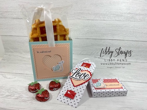 libbystamps, Stampin' Up!, Hearts & Kisses, Sending Hearts January 2021 Paper Pumpkin Kit, Heart Punch Pack, Strawberry Builder Punch, Little Love Boxes Add-On, Ink Stamp Share Blog Hop, Paper Pumpkin