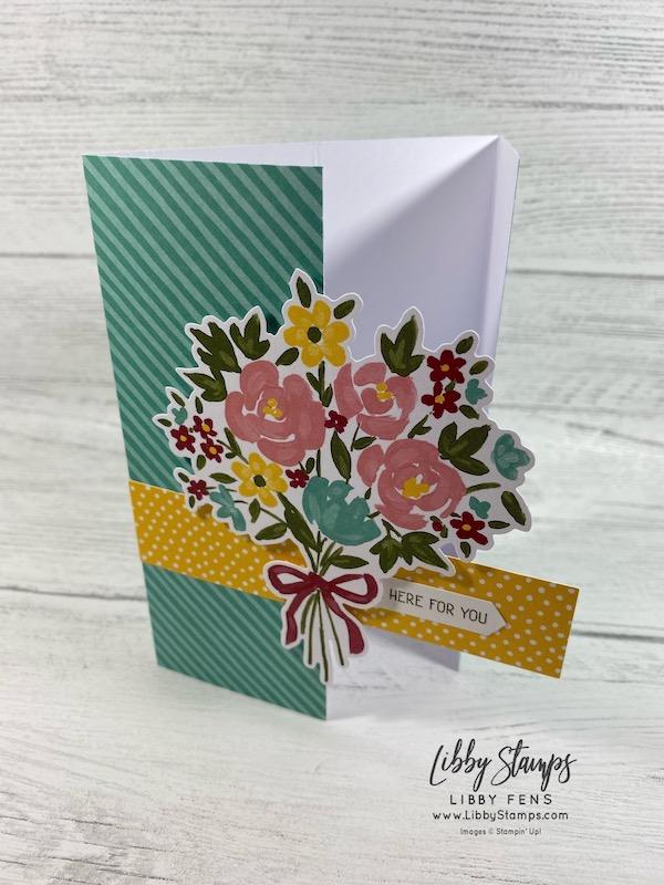libbystamps, Stampin' Up!, February 2021 Paper Pumpkin Bouquet of Hope, Paper Pumpkin, Bouquet of Hope, AHSC, Atlantic Hearts Sketch Challenge