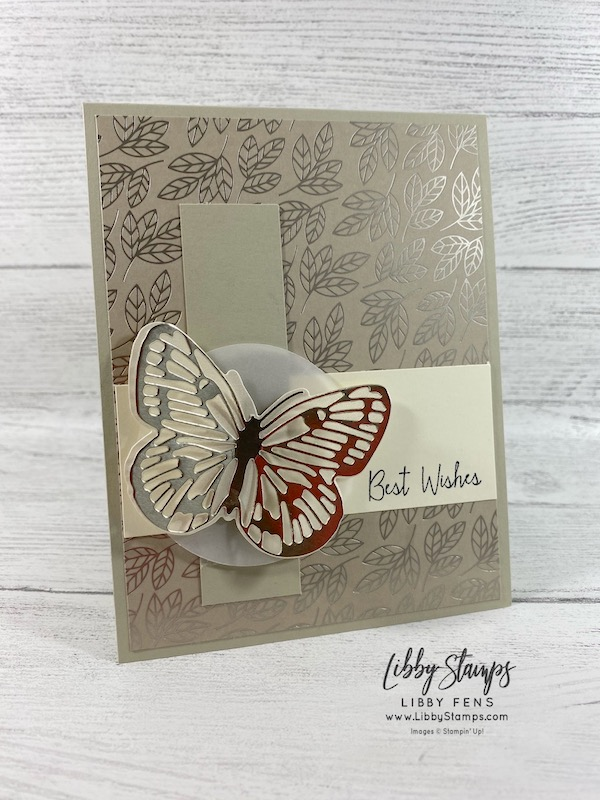 libbystamps, Stampin' Up!, Queen Anne's Lace, Love You Always DSP, Golden Garden Designer Specialty Acetate, Love You Always Foil Sheets, Class To-Go, Brilliant Wings