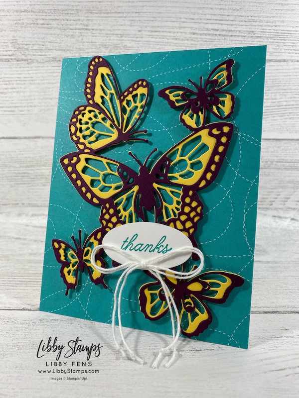 libbystamps, Stampin' Up!, Beauty Abounds, Butterfly Beauty Dies, Snail Mail DSP, Double Oval Punch, Snail Mail Twin Combo Pack, CCMC, Create with Connie and Mary