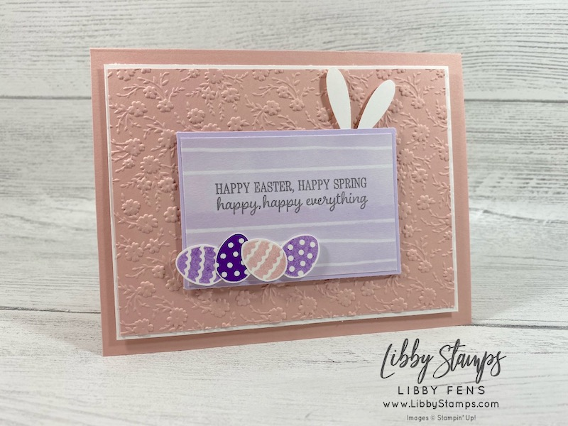 libbystamps, Stampin' Up!, Timeless Tulips, Ornate Floral 3D EF, Playing With Patterns DSP, Daisy Punch, Ink Stamp Share Blog Hop