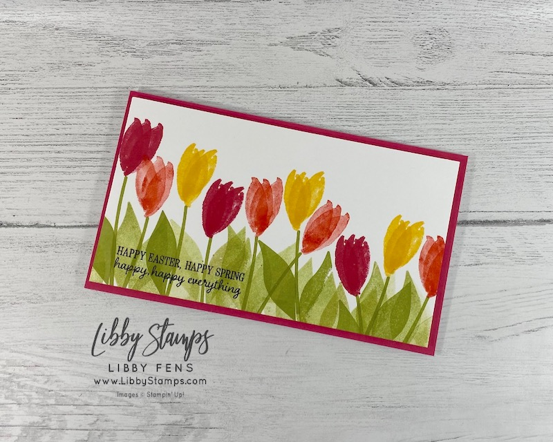 libbystamps, Stampin' Up!, Pretty Perennials, In Bloom, Timeless Tulips, #simplestamping, CCMC, Create with Connie and Mary