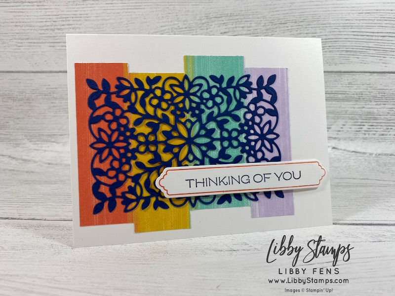 libbystamps, Stampin' Up!, Vine Design, Flowering Vine Dies, Vine Design Bundle, Playing With Patterns DSP, CCMC, Create with Connie and Mary