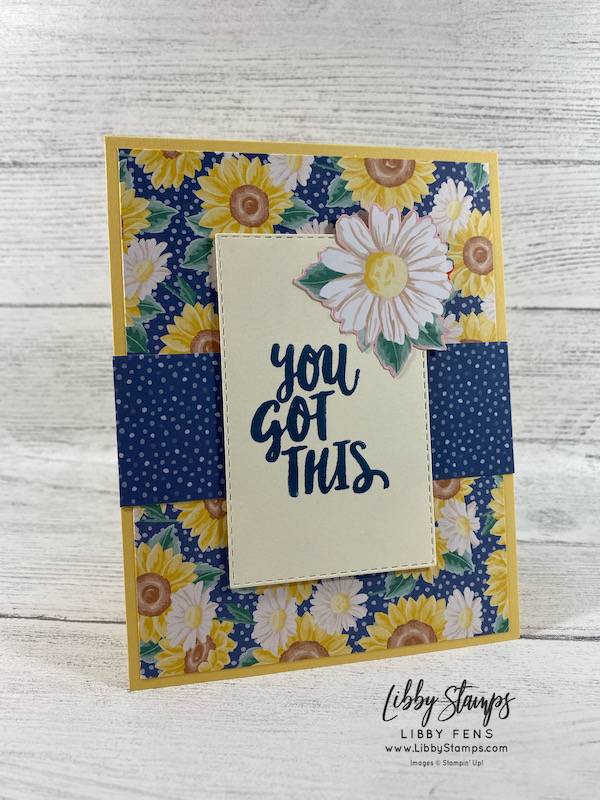 libbystamps, Stampin' Up!, Ridiculously Awesome, Rectangle Stitched Dies, Flowers For Every Season DSP, AHSC, Atlantic Hearts Sketch Challenge