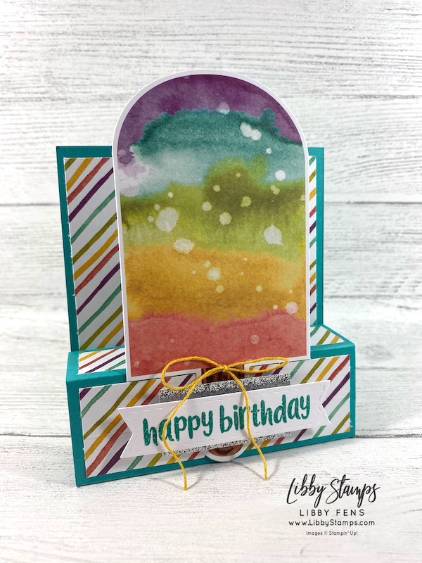 libbystamps, Stampin' Up!, So Cool April 2021 Paper Pumpkin Kit, So Cool, Paper Pumpkin, Fun Fold, Fun Fold Fridays