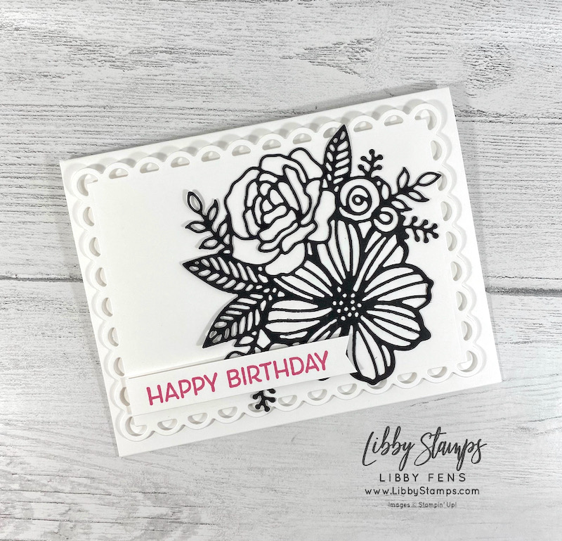 libbystamps, Stampin' Up, Artistically Inked, Artistic Dies, Scallop Contour Dies, Artistically Inked Bundle, Polished Pink, Banners Pick A Punch, Stamping INKspirations, Stamping INKspirations Blog Hop