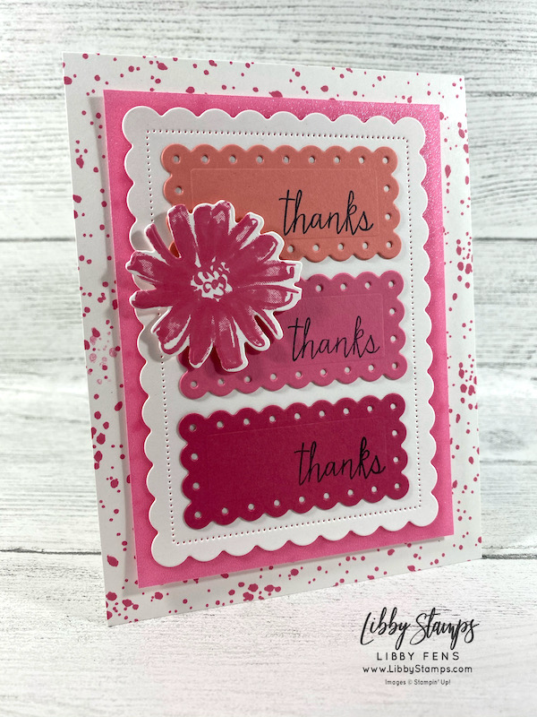 libbystamps, Stampin' Up!, Colors & Contours, Colors & Contours Bundle, Queen Anne's Lace, Scalloped Contours Dies, 2021-2023 In Color Shimmer Vellum, 2021-2023 In Colors, CCM, Create with Connie and Mary, Create with Connie and Mary Saturday Blog Hop
