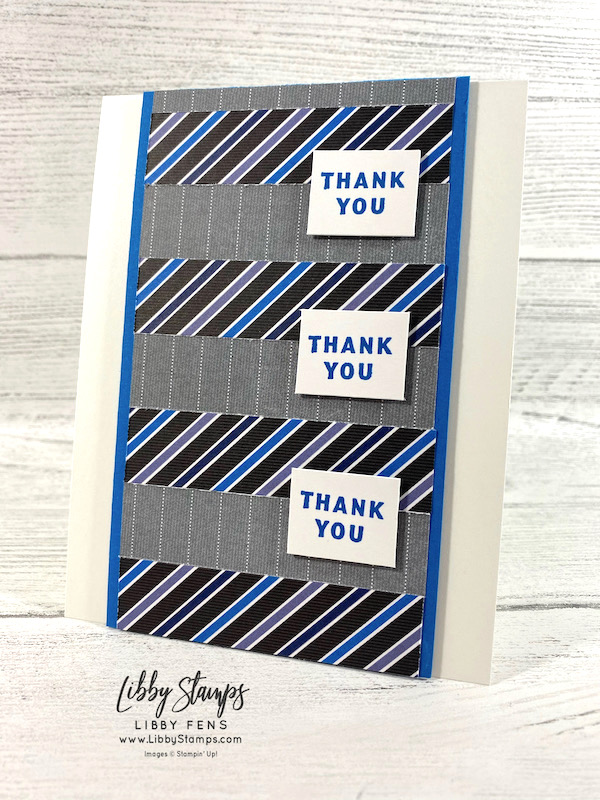 libbystamps, Stampin' Up, Handsomely Suited, Well Suited DSP, Creative Stampers Tutorial Bundle Group