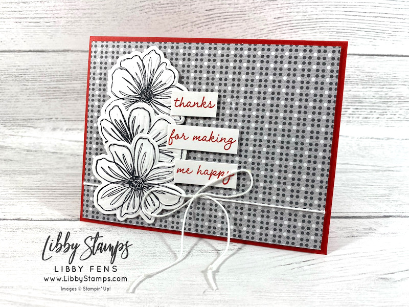 libbystamps, Stampin' Up, Art in Bloom, Art In Bloom Bundle, Bloom Hybrid Embossing Folder, Well Suited DSP, Snail Mail Twine Combo Pack, Creative Stampers, Creative Stampers Tutorial Bundle Group