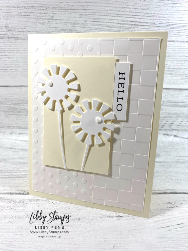 libbystamps, Stampin' Up!, Forever Fern, Dandy Wishes Dies, Checks & Dots EF, Resin Hearts, TSOT, Try Stampin' on Tuesday