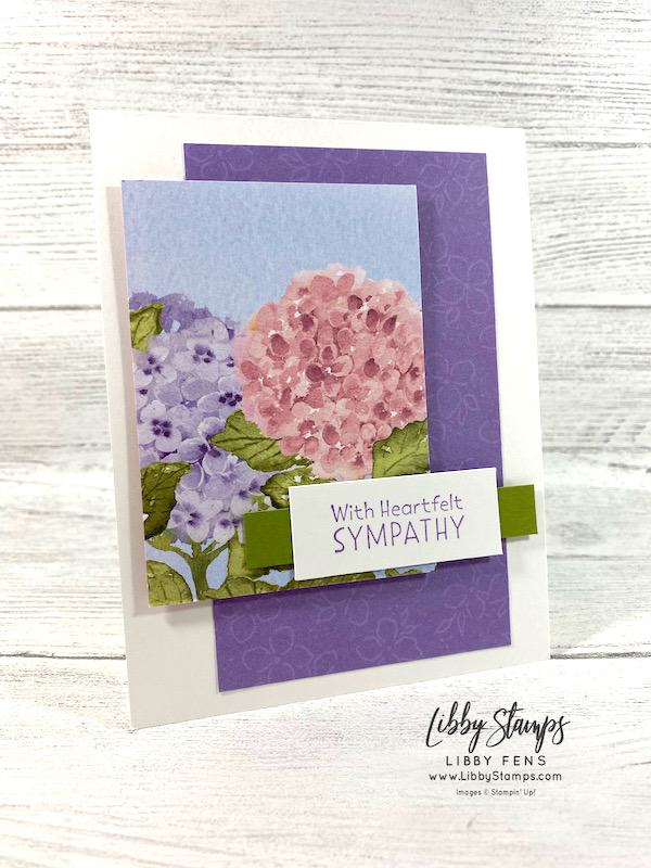 libbystamps, Stampin' Up, Inspired Thoughts, Hydrangea Hill DSP, CCMC, Create with Connie and Mary, Create with Connie and Mary Challenges