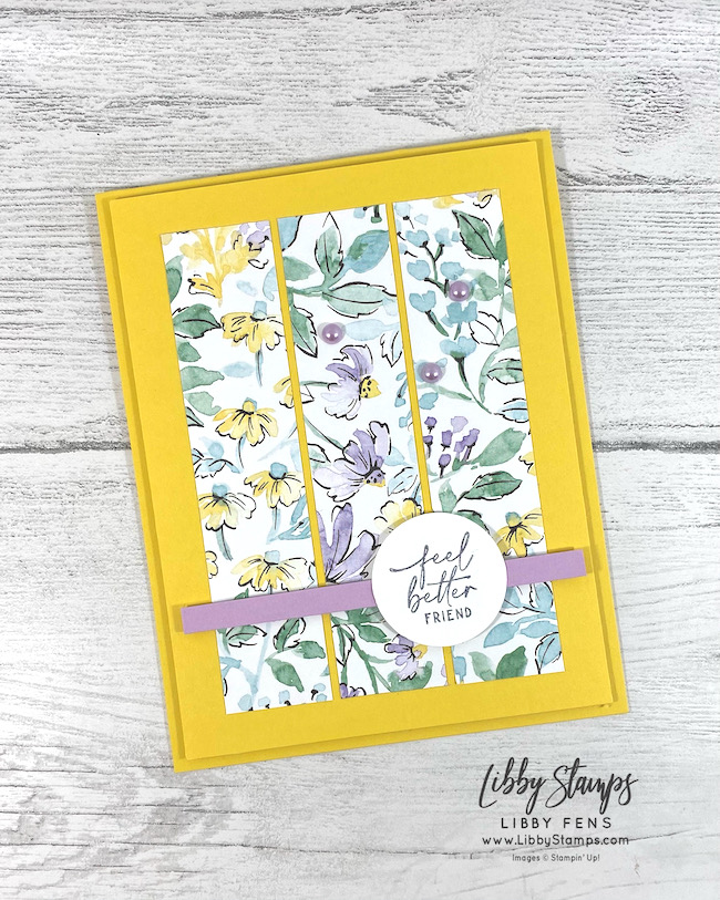 libbystamps, Stampin' Up, Hand-Penned Petals, Pastel Pearls, Hand-Penned DSP, AHSC, Atlantic Hearts Sketch Challenge