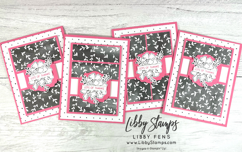 libbystamps, Stampin' Up, Penguin Place, Beautifully Penned DSP, Label Me Lovely, One Sheet Wonder, 6 x 6 One Sheet Wonder, Fall Sale-a-bration 2021, Sale-A-Bration, SAB, Stamping With Friends Blog Hop