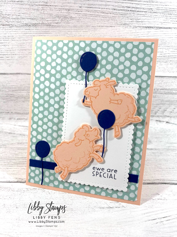 libbystamps, Stampin' Up, Counting Sheep, Hippo Happiness, Sheep Dies, Scalloped Contours Dies, Pattern Party DSP, CCMC, Create with Connie and Mary, Create with Connie and Mary Challenges, Fall Sale-a-bration 2021, Sale-A-Bration, Sale-a-bration 2021
