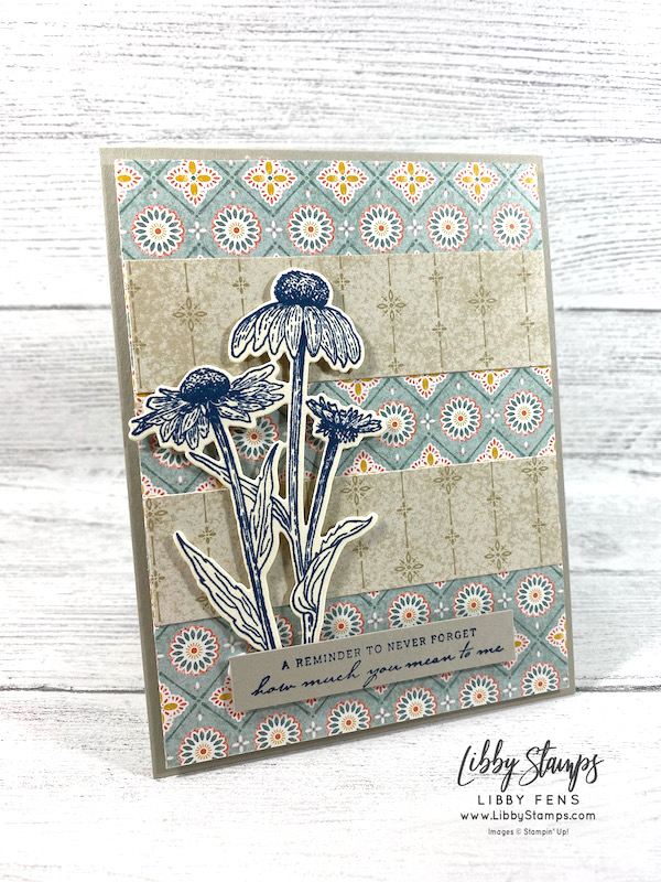 libbystamps, Stampin' Up, Nature's Harvest, Harvest Dies, Nature's Harvest Bundle, Harvest Meadow DSP, TSOT, Try Stampin' on Tuesday