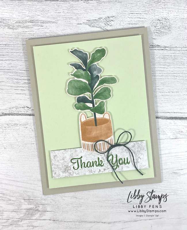 libbystamps, Stampin' Up, Plentiful Plants, Bloom Where You Are Planted DSP, AHSC, Atlantic Hearts Sketch Challenge
