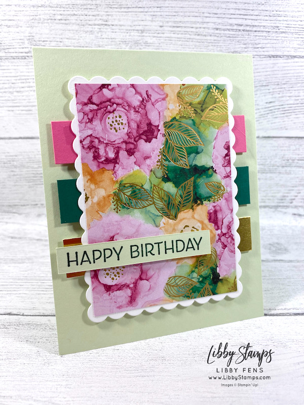 libbystamps, Stampin' Up, Artistically Inked, Scalloped Contours Dies, Expression In Ink, CCMC, Create with Connie and Mary, Create with Connie and Mary Challenges
