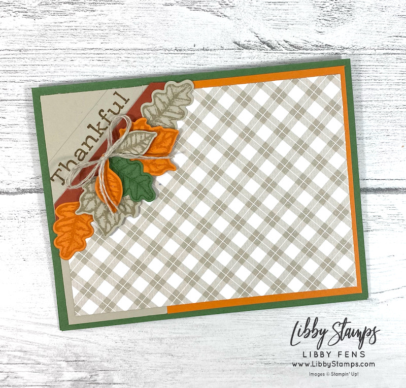 libbystamps, Stampin' Up, Time Of Giving, Time Of Giving Bundle, Giving Gifts Dies, Peaceful Prints DSP, Linen Thread, SAB, Fall Sale-a-bration 2021, Sale-A-Bration, Sale-a-bration 2021, Saleabration, Saleabration 2021, TSOT, Try Stampin' on Tuesday