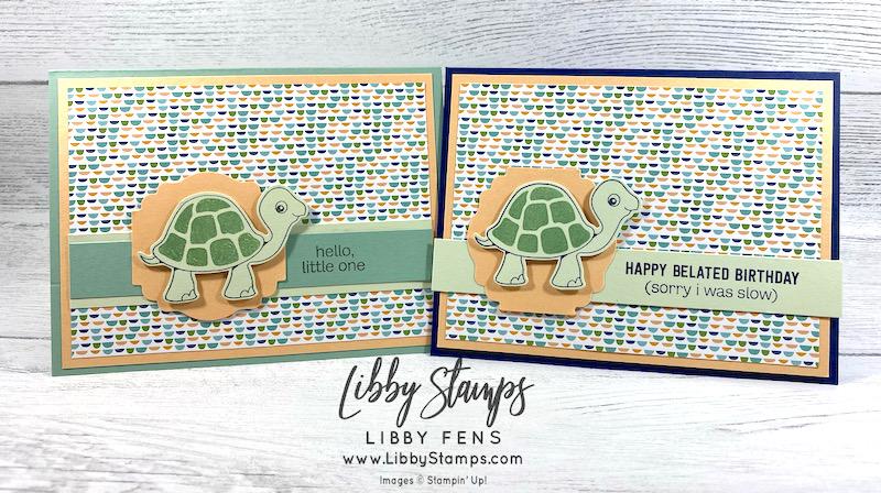 Turtle Friends, Turtle Friends Bundle, Pattern Party DSP, Turtle Punch, Stampin Dreams