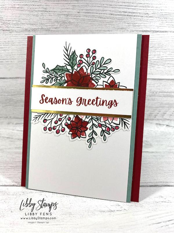 libbystamps, Stampin' Up,Words of Cheer, Words Of Cheer Bundle, Christmas Cheer Dies, Stamparatus, AHSC, Atlantic Hearts Sketch Challenge, Christmas